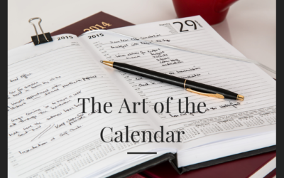 The Art of the Calendar — Bullet Journaling